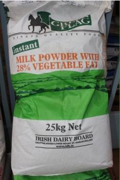 Le lait importé