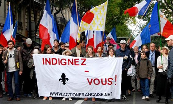 Cortège de l'AF à la Manif pour Tous (20/10/2013)
