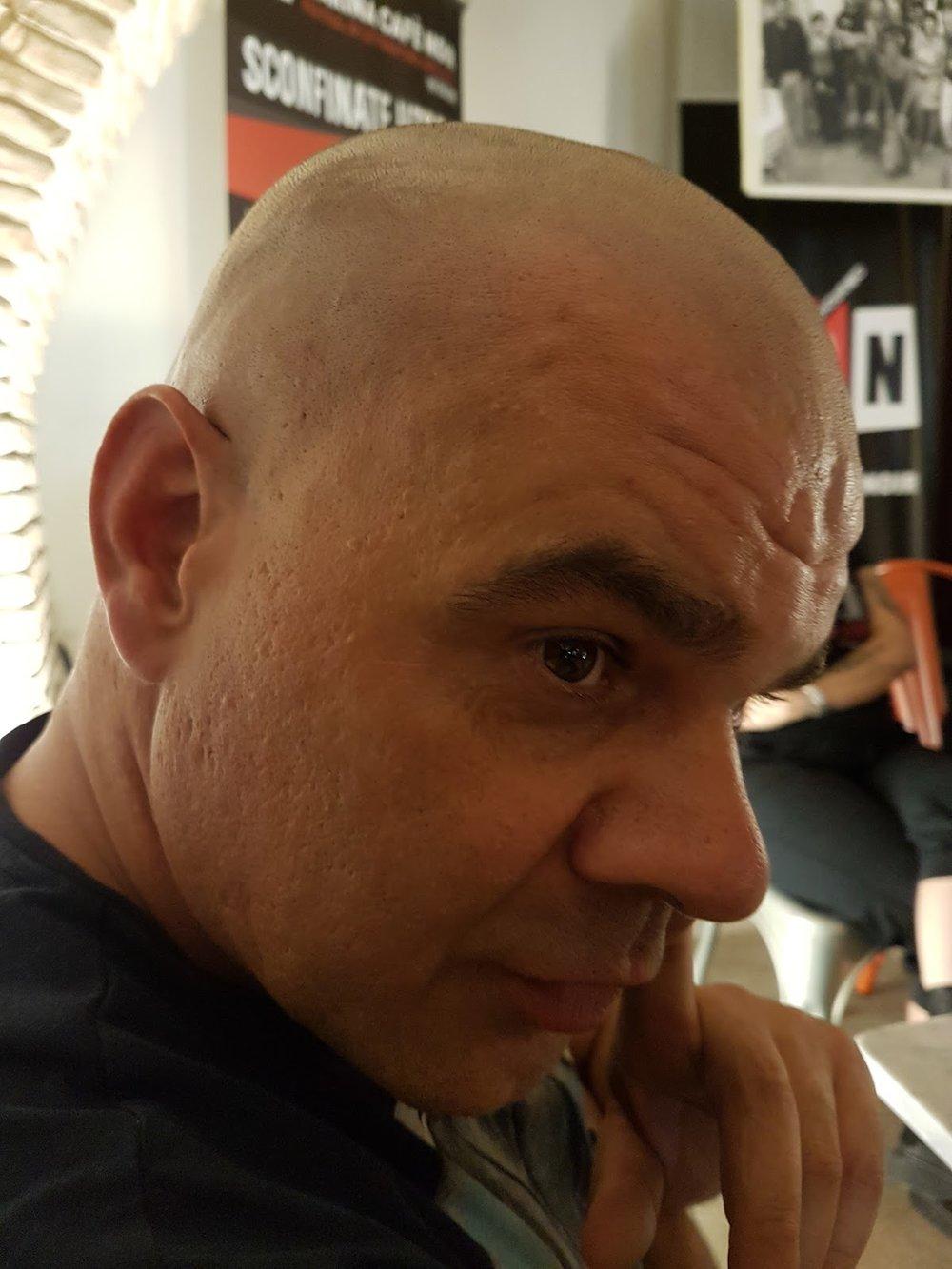 Bruno, autre ex-bibliothécaire de Buoncammino et poète