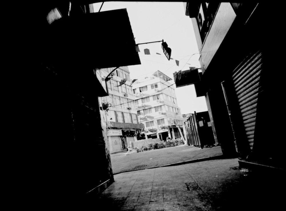 SebMénard, Syrie, Damas, 2008, Agfa APX100, scan de négatif.