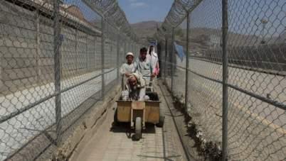 Entre Afghanistan et Pakistan, le poste-frontière de Torkham (® Reuters, 2016).