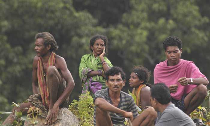 Exploitation minière : Vedanta dépouille la tribu des Kondh de leur montagne sacrée. (Photo :Sandipan Chatterjee)