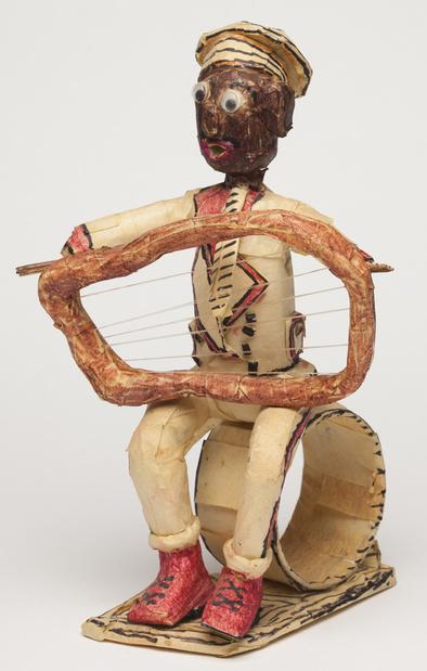 Willard_Hill_-_Untitled_(Man_with_Harp
