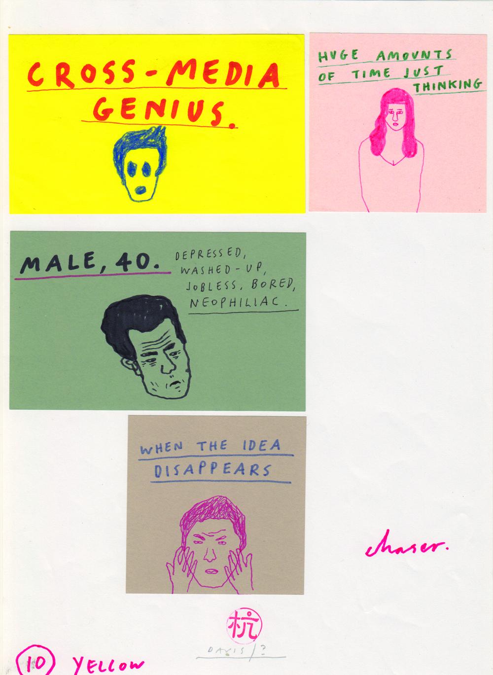 Paul Davis Post-it series