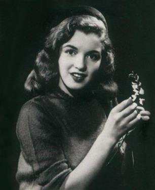 En 1946, au moment de son premier contrat avec la Fox.