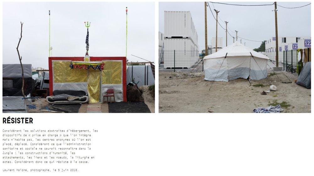 """Cliquer l'image pour aller sur le site """"Réinventer Calais"""""""