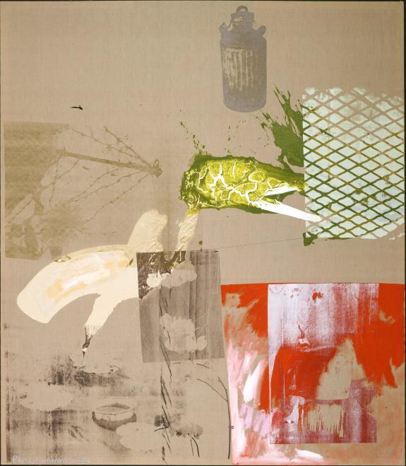 Salvage - Proof 1984 (Acrylic on canvas)