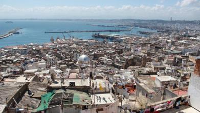 Port et baie d'Alger