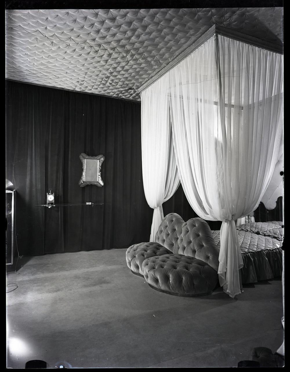 Casa Devalle, 1939-1940, by Italian architect, designer, and photographer Carlo Mollino.© Fondo Carlo Mollino