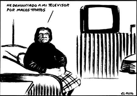 J'ai porté plainte contre mon téléviseur pour mauvais traitements