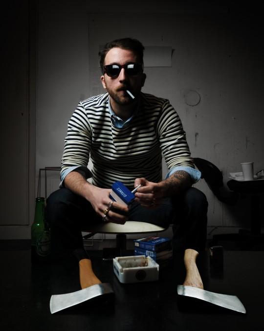 Léo Dorfner, portrait © photo: Enguerran Ouvray