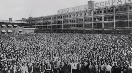 Ford Motor Company, Detroit, 1913