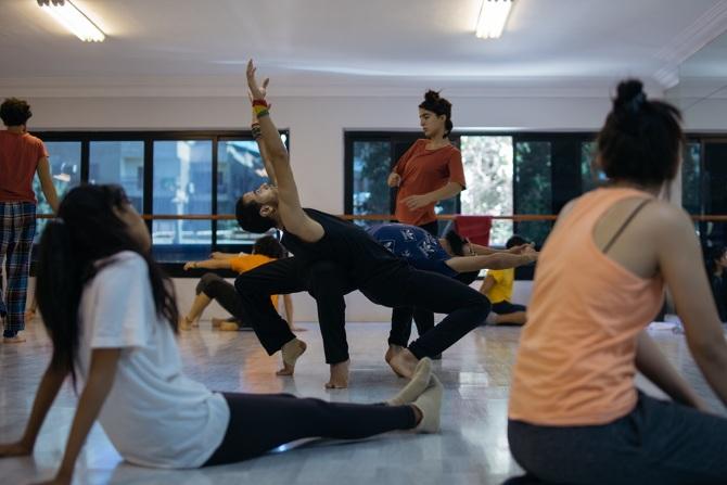 Atelier de danse au Caire