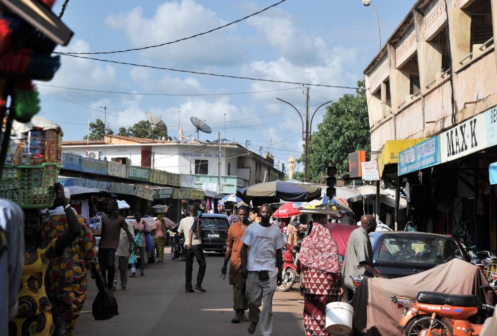 Un marché de Bamako, Mali.ISSOUF SANOGO / AFP