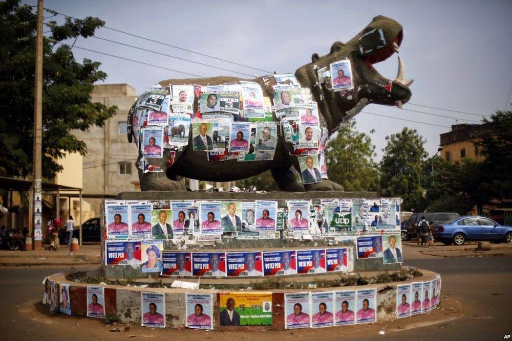 La campagne électorale à Bamako