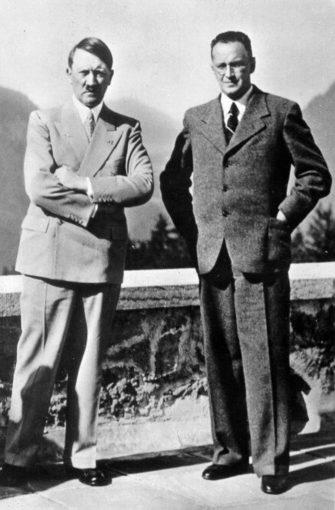 Schuschnigg convoqué par Hitler à Berchtesgaden (12 février 1938)