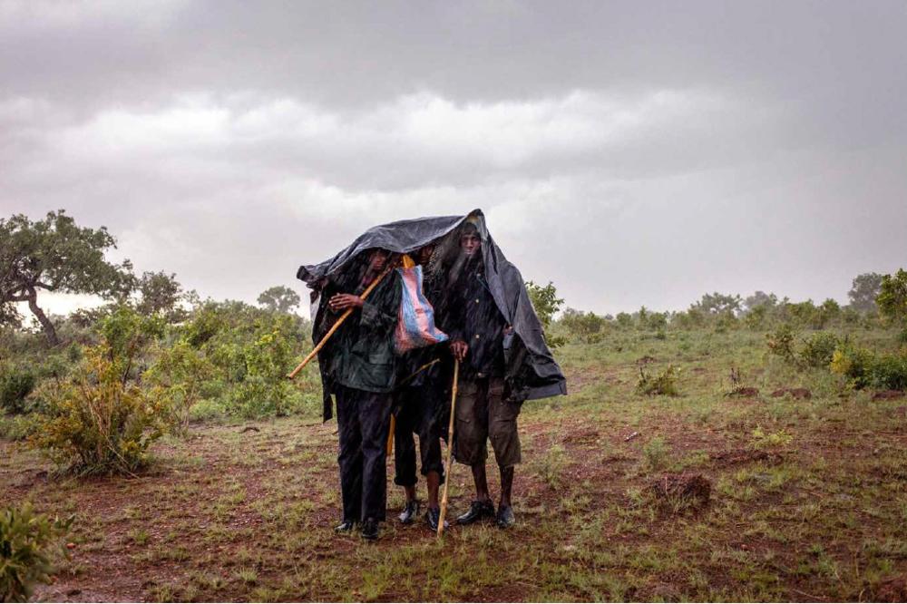 Gilles Coulon -  A proximité du village de Tindawombo au Togo,les éleveurs poursuivent leur remontée vers le Burkina Faso  - 2016