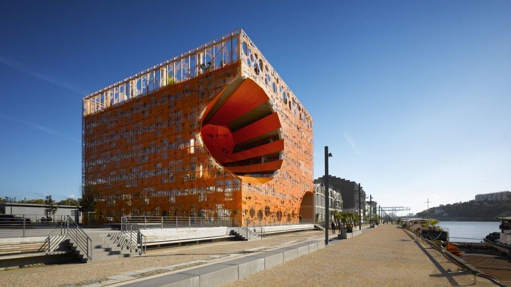 Cube Orange - Jakob MacFarlane - Lyon 2010