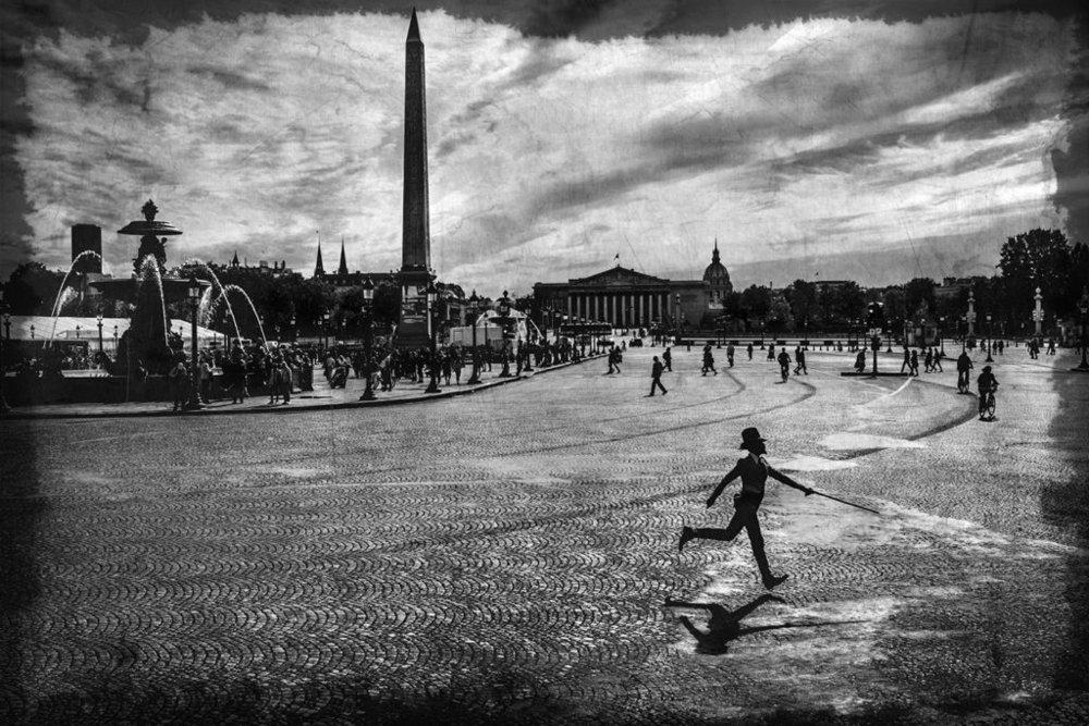 © LEA LUND & ERIK K -Erik, place de la Concorde, Paris, septembre 2016