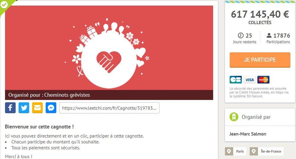 La Caisse De Greve Crowdfundee C Est L Uberisation De La Lutte