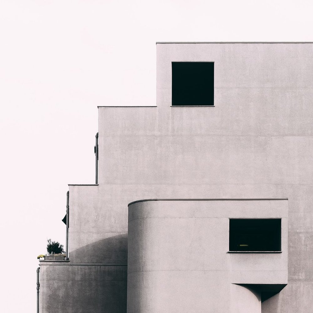 Quartier Gallaratese. Architectes: Aldo Rossi et Carlo Aymonino