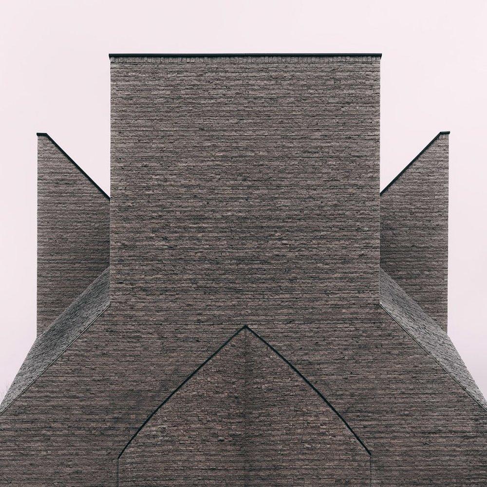 Centre pastoral Giovanni XIII . Architecte Botta Mario