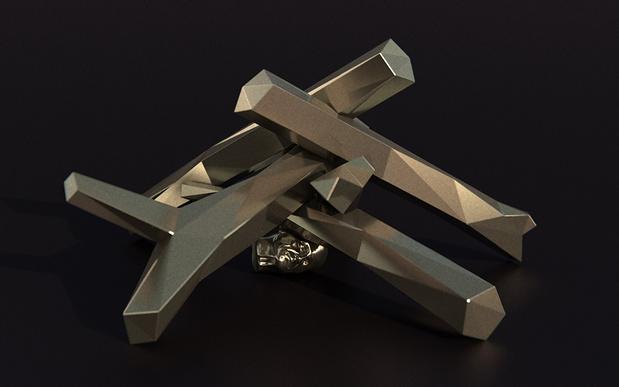 Nicolas Darrot,  Aïon , 2017 Bronze, 125 ×125 ×50 cm