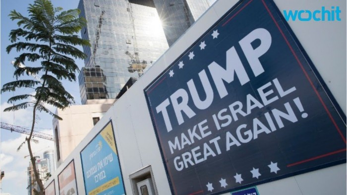 """Trump, redonne sa grandeur à Israël !"""