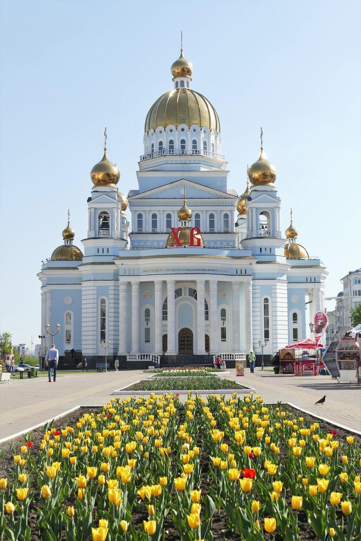 La cathédrale orthodoxe de Saransk