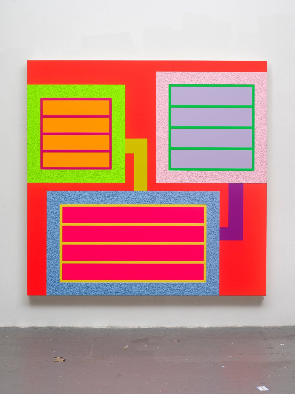 Peter Halley   Bright  2018