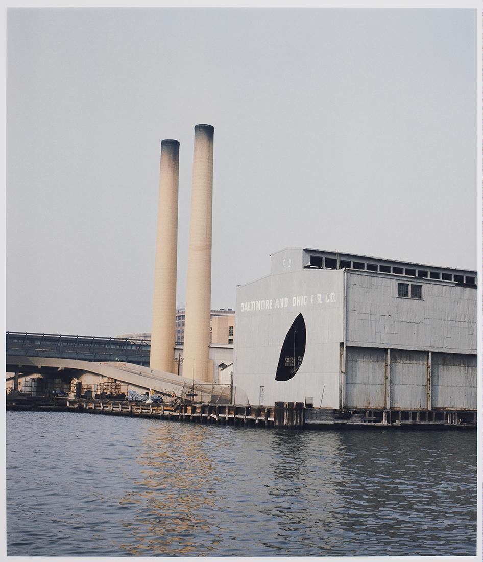 Day's End (Pier 52)   1975  Gordon Matta-Clark  Courtesy The Estate of Gordon Matta-Clark et David Zwirner, New York / Londres / Hong Kong. © 2018 The Estate of Gordon Matta-Clark / ADAGP, Paris