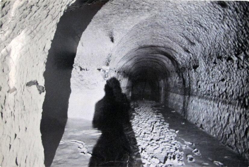 Sous-sols de Paris, 1977 (catacombes)    Gordon Matta-Clark