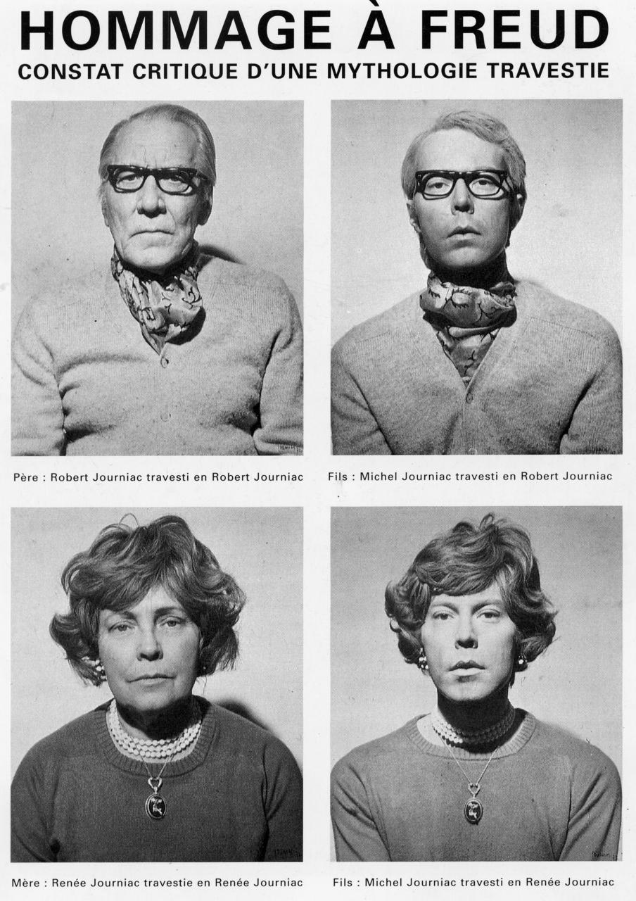 Michel Journiac, Le Corps travesti — Galerie Christophe Gaillard, Paris     Distribué par Les Presses du réel et disponible ici