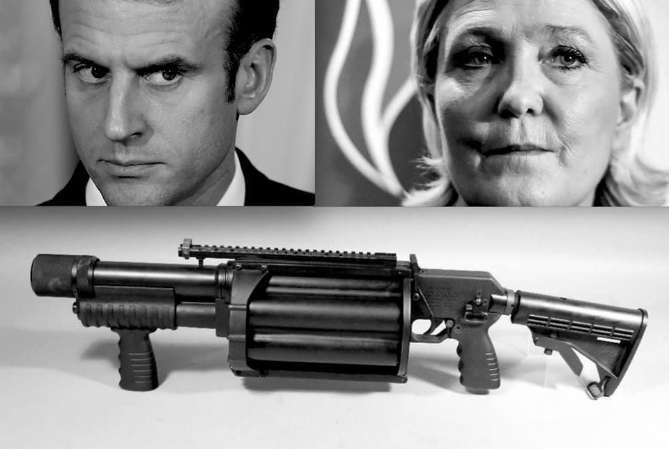 France : vers la dictature ? par Yannis Youlountas - Prise de parole | Nous savions que Macron était du pain béni pour Le Pen : pedigree, accointances, fragrance, arrogance, capitalisme échevelé. Le Pen qui frôle désormais la barre symbolique des 30% dans les sondages. Mais, en plus, Macron est en train de mettre en place sous nos yeux des éléments déterminants du régime ultra-autoritaire qui seront livrés tous chauds à la présidente du Rassemblement National si elle arrive au pouvoir.Elle pourra alors disposer d'un fichage sans précédent de la population et d'une police décomplexée pour faire ce qui lui passera par la tête. C'est pourquoi il est indispensable de stopper Macron au plus vite et de remettre totalement en question le système politique et économique. Nous n'avons que deux perspectives : l'utopie ou la dystopie, l'émancipation sociale ou l'expérience fasciste.