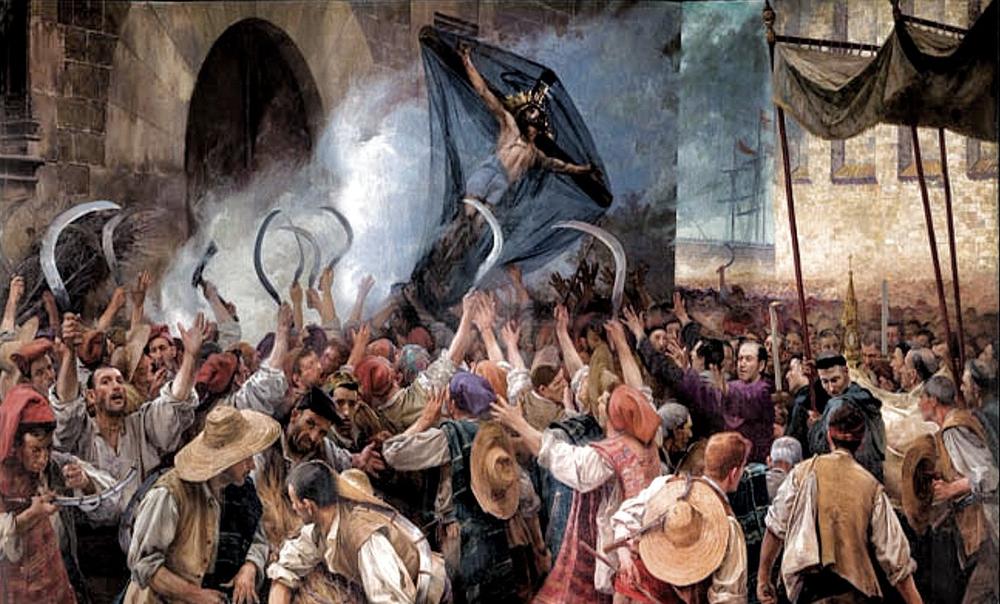 La guerre des pauvres est toujours d'actualité ! Avec Müntzer pour la Réforme radicale, par Eric Vuillard - Livres | Une redoutable lecture échevelée de la révolte paysanne allemande de 1525, autour de la figure charismatique et obsessionnelle de Thomas Müntzer.