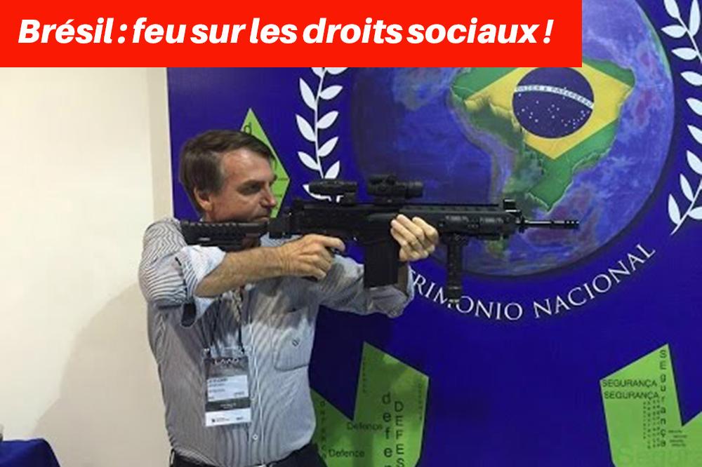 Un mois de présidence Bolsonaro et dix premiers jours comme une rafale d'arme automatique : premier bilan -