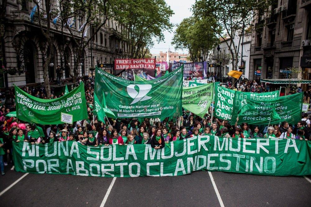 Avec les féministes argentines, contre la dictature de l'Église catholique, pour l'IVG ! -