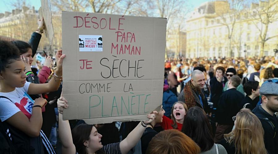 Écologie - En grève pour le climat : les jeunes montrent la voie !   -