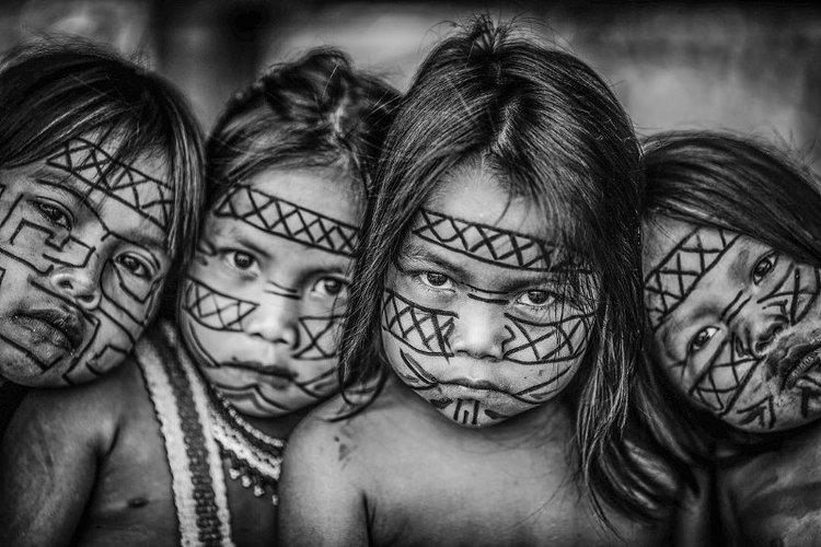 Brésil - Les premiers à souffrir seront encore une fois les Indiens -