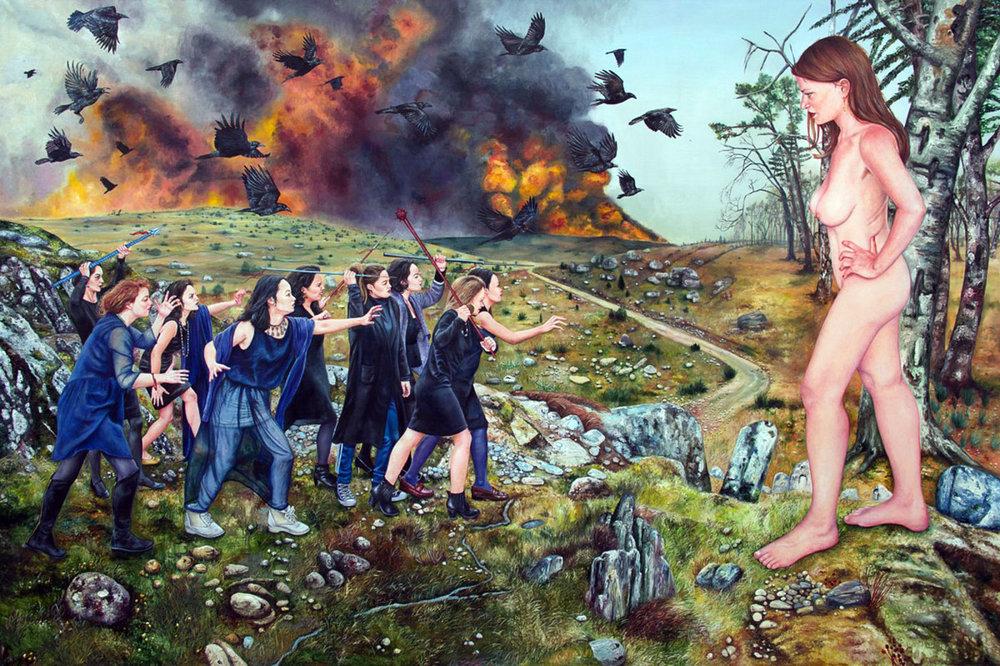 Nazanin Pouyandeh- Soulèvement des âmes noires