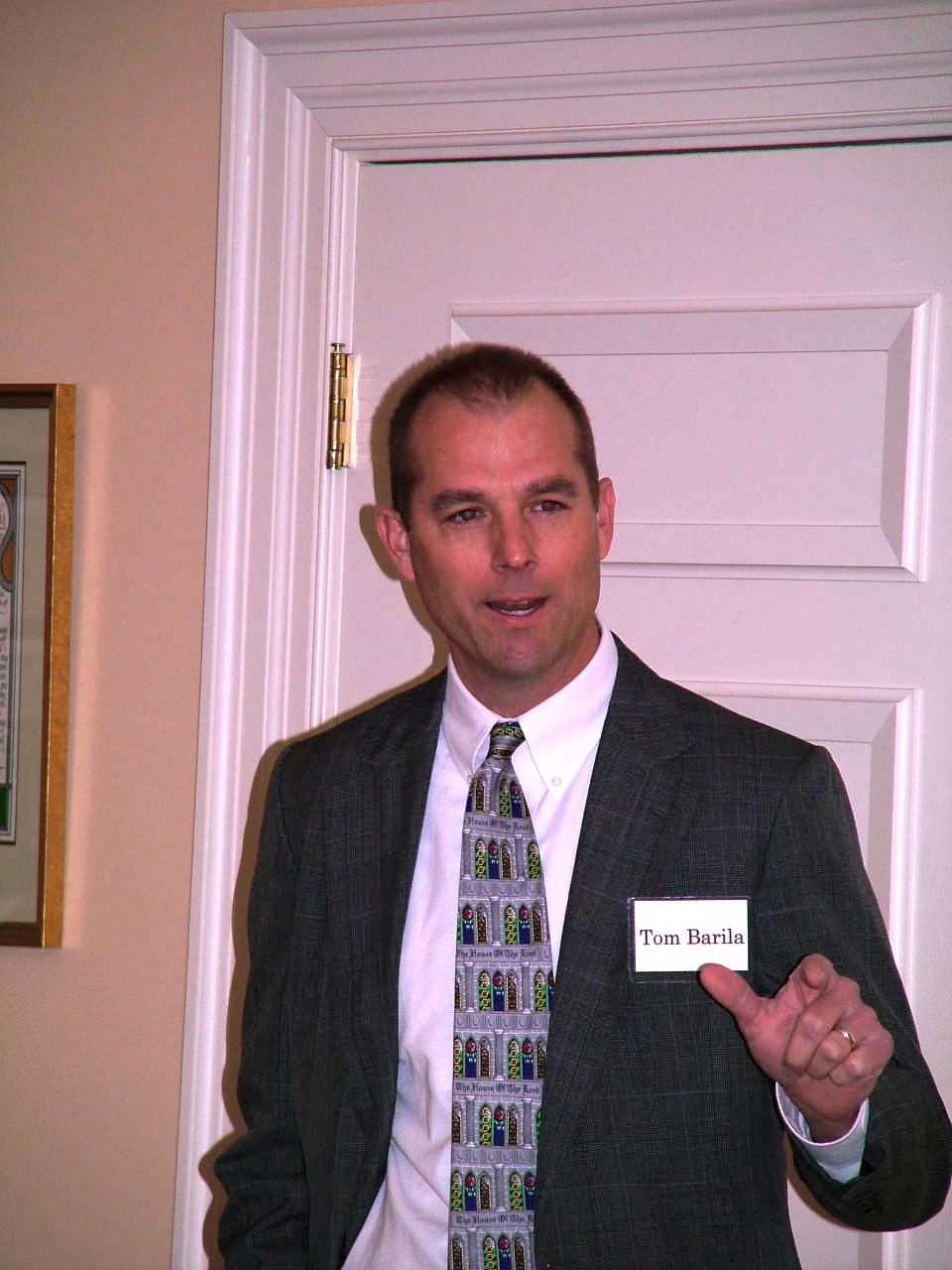 Tom Barila Director of Discipleship and Christian Education