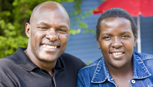 Pastor Fred Wantaate and Sabrina Wantaate