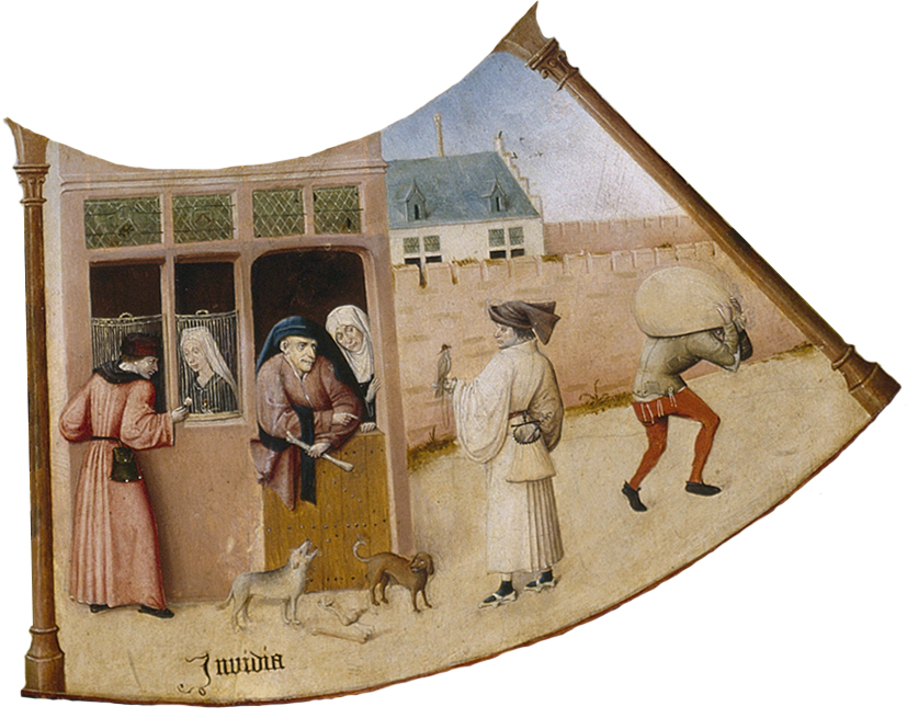 Invidia (Envy) by Hieronymus Bosch