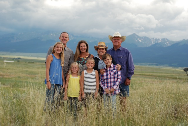 JERRY LEACHMAN AND HIS FAMILY