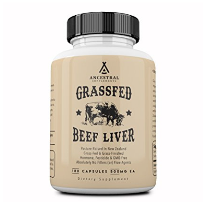 Ancestral Supplements beef liver