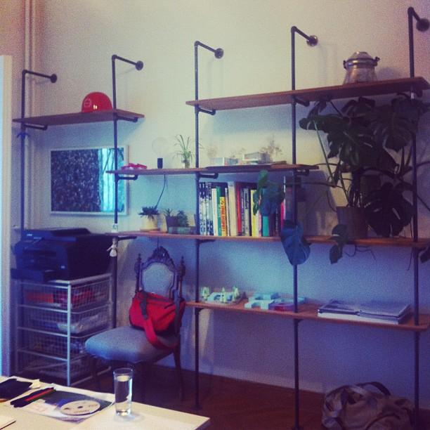 New Shelves for the office