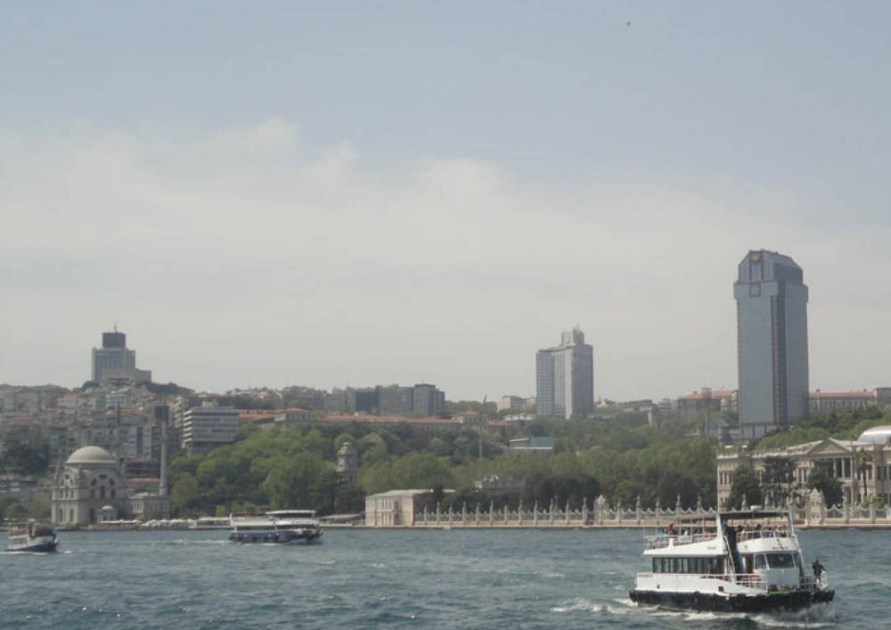 THE TAKSIM SKYLINE IS MARKED BY THE HOTEL TOWERS