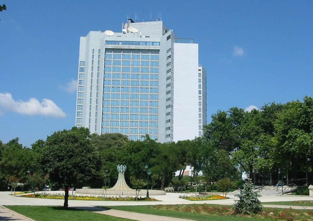 INTERCONTINENTAL HOTEL BUILT INSIDE GEZI PARK