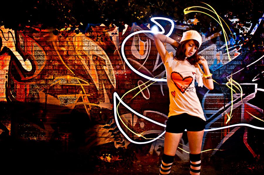 Keira Jay McIntyre Photography Light Graffiti