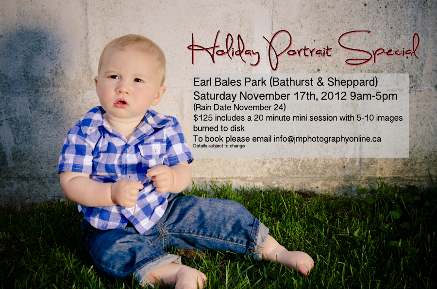 Jay McIntyre Photography Holiday Portrait Special
